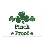 Pinch Proof Shamrock Postcards (Package of 8)