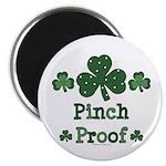 Pinch Proof Shamrock Magnet