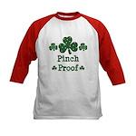 Pinch Proof Shamrock Kids Baseball Jersey