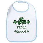 Pinch Proof Shamrock Bib