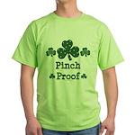 Pinch Proof Shamrock Green T-Shirt