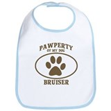 Pawperty of Bruiser  Bib