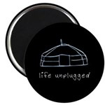 Life Unplugged Magnet