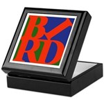 Pop Art Bird Keepsake Box
