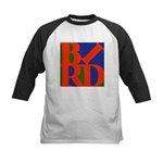 Pop Art Bird Kids Baseball Jersey