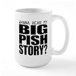 Big Pish Story Large Mug