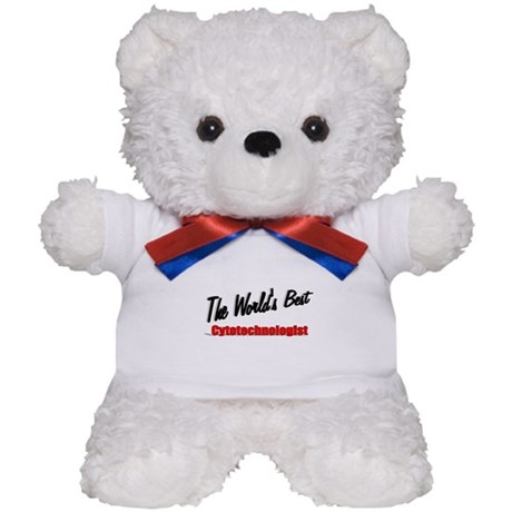 """The World's Best Cytotechnologist"" Teddy Bear"