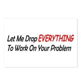 Your Problem Postcards (Package of 8)