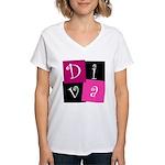 DIVA Design! Women's V-Neck T-Shirt