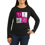 DIVA Design! Women's Long Sleeve Dark T-Shirt