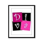 DIVA Design! Framed Panel Print