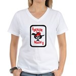 Dealer of Death Women's V-Neck T-Shirt