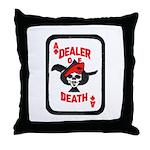 Dealer of Death Throw Pillow