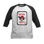 Dealer of Death Kids Baseball Jersey