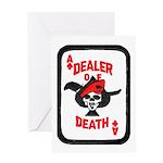Dealer of Death Greeting Card