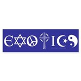 Exotics Bumper Bumper Sticker