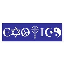 Exotics Bumper Car Sticker