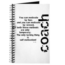 Self Motivation Black Journal