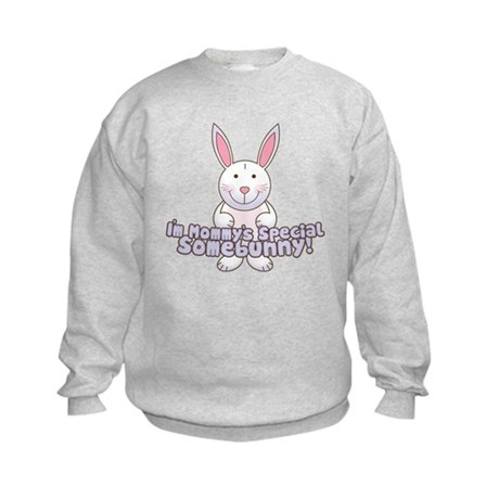 Mommy's Somebunny Boy Kids Sweatshirt