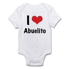 "I ""heart"" Abuelito Infant Bodysuit"