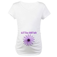 Little Sister Lavender Flower Shirt