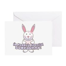 Mommy's Somebunny Girl Greeting Card