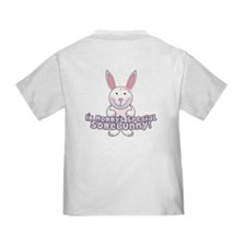 Mommy's Somebunny Girl T