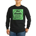 Go Green Style 2008 Long Sleeve Dark T-Shirt