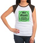 Go Green Style 2008 Women's Cap Sleeve T-Shirt