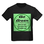 Go Green Style 2008 Kids Dark T-Shirt