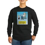 Pulitzer Surprise Long Sleeve Dark T-Shirt
