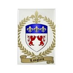 LANGLAIS Family Crest Rectangle Magnet