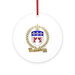 LANGLAIS Family Crest Ornament (Round)