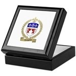 LANGLAIS Family Crest Keepsake Box