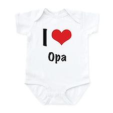 I 'heart' Opa bodysuit