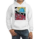 Fork at Toaster Movie Hooded Sweatshirt