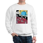 Fork at Toaster Movie Sweatshirt