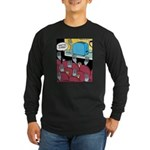 Fork at Toaster Movie Long Sleeve Dark T-Shirt