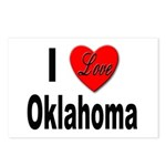 I Love Oklahoma Postcards (Package of 8)