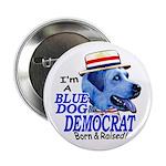 Sample Blue Dog Democrat Button