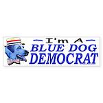 Sample Blue Dog Democrat Bumper Sticker