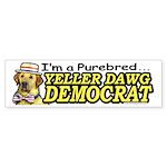 Sample Purebred Yellow Dog Bumper Sticker