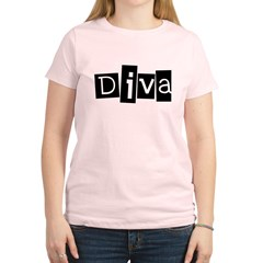 Abstract Diva Women's Light T-Shirt
