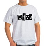 Abstract Diva Light T-Shirt