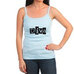 Abstract Diva Jr. Spaghetti Tank