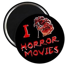 I heart horror movies Magnet