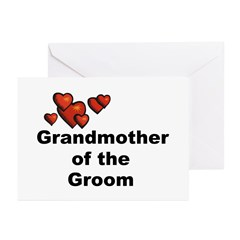 Grandmother of the Bride Greeting Cards (Pk of 20)