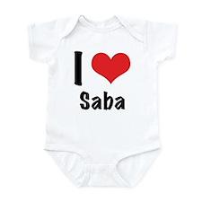 I 'heart' Saba bodysuit