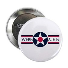 "Webb Air Force Base 2.25"" ReUnion Button"