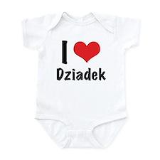 I 'heart' Dziadek bodysuit